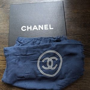 100% Authentic Chanel cashmere scarf
